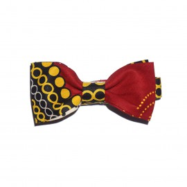 Reds and Lemons Bow Tie